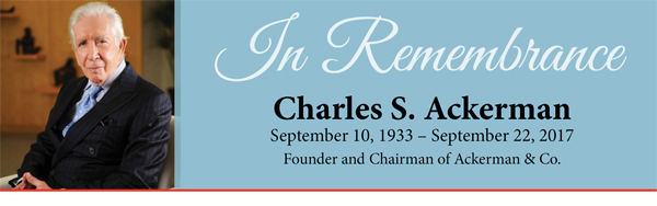 Remembering Charles S. Ackerman