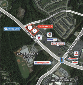 2 Outparcels – Conyers, Ga